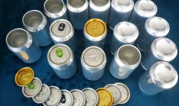 Aluminum can-beverage packaging metal container